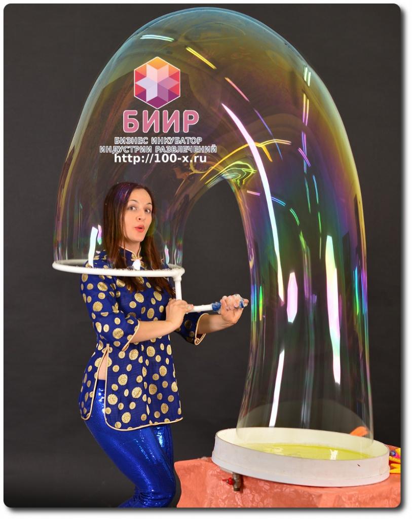 Как сделать состав для гигантских мыльных пузырей